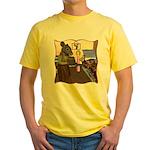 HDD Safe At Last! Yellow T-Shirt