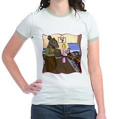 HDD Safe At Last! Jr. Ringer T-Shirt