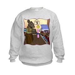 HDD Safe At Last! Kids Sweatshirt
