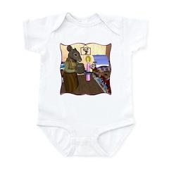 HDD Safe At Last! Infant Bodysuit