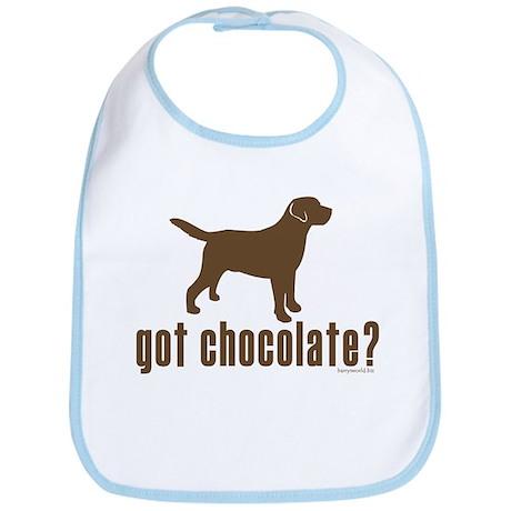 got chocolate lab? Bib