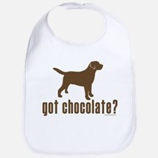 got chocolate lab? Bib