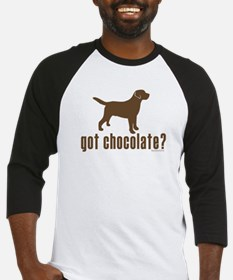 got chocolate lab? Baseball Jersey