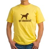 Animals labrador Mens Yellow T-shirts