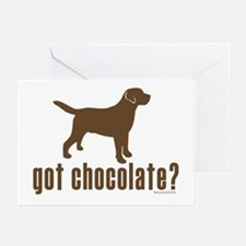 got chocolate lab? Greeting Cards (Pk of 20)
