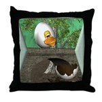 Humpty Dumpty Throw Pillow
