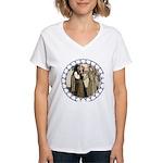 HD - A Princess Won! Women's V-Neck T-Shirt