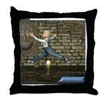 Jack Be Nimble Throw Pillow