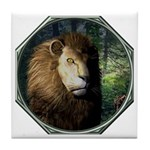 King of the Jungle Tile Coaster