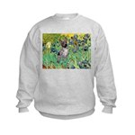 Irises-Am.Hairless T Kids Sweatshirt