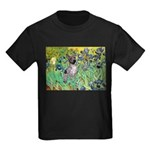 Irises-Am.Hairless T Kids Dark T-Shirt