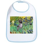 Irises-Am.Hairless T Bib