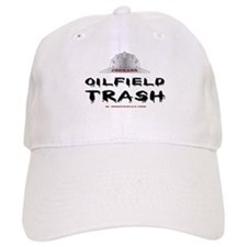 Coonass Oilfield trash Baseball Cap