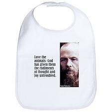 """Dostoevsky """"Animals"""" Bib"""