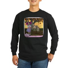 Little Bo-Peep Long Sleeve Dark T-Shirt
