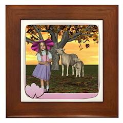 Little Bo-Peep Framed Tile