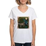 LLB - Blow Your Horn! Women's V-Neck T-Shirt