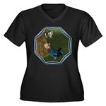 LBB - Asleep in the Hay! Women's Plus Size V-Neck