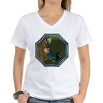 LBB - Asleep in the Hay! Women's V-Neck T-Shirt