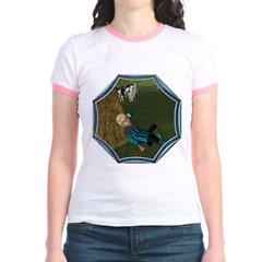 LBB - Asleep in the Hay! Jr. Ringer T-Shirt