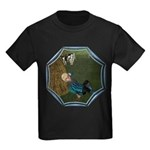 LBB - Asleep in the Hay! Kids Dark T-Shirt