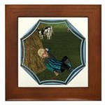 LBB - Asleep in the Hay! Framed Tile