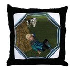 LBB - Asleep in the Hay! Throw Pillow