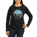 The Little Mermaid Women's Long Sleeve Dark T-Shir