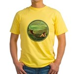The Little Mermaid Yellow T-Shirt