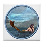 The Little Mermaid Tile Coaster