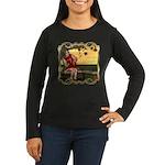 Little Miss Muffet Women's Long Sleeve Dark T-Shir