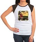 Little Miss Muffet Women's Cap Sleeve T-Shirt