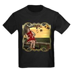 Little Miss Muffet Kids Dark T-Shirt