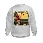 Little Miss Muffet Kids Sweatshirt