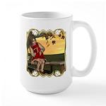 Little Miss Muffet Large Mug