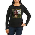 Little Miss Tucket Women's Long Sleeve Dark T-Shir