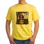 Little Miss Tucket Yellow T-Shirt