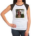 Little Miss Tucket Women's Cap Sleeve T-Shirt