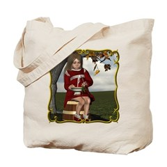 Little Miss Tucket Tote Bag