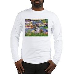 Lilies2-Am.Hairless T Long Sleeve T-Shirt