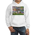 Lilies2-Am.Hairless T Hooded Sweatshirt
