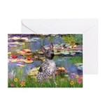 Lilies2-Am.Hairless T Greeting Cards (Pk of 10)