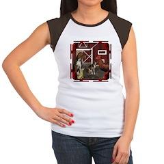 The Little Red Hen Women's Cap Sleeve T-Shirt