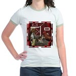 The Little Red Hen Jr. Ringer T-Shirt