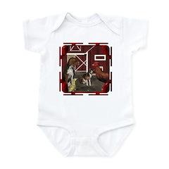 The Little Red Hen Infant Bodysuit