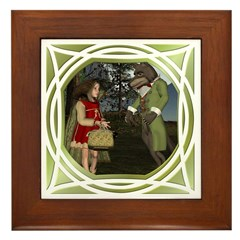 LRR - In the Forest Framed Tile