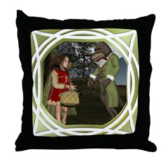 LRR - In the Forest Throw Pillow