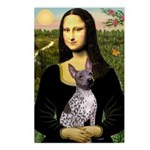 MonaLisa - AmHairless T. Postcards (Package of 8)