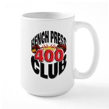 BENCH PRESS 400 CLUB Mug