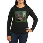 Old MacDonald Women's Long Sleeve Dark T-Shirt